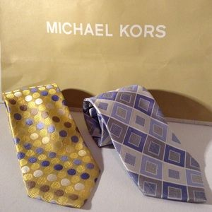 MICHAEL KORS - two ties